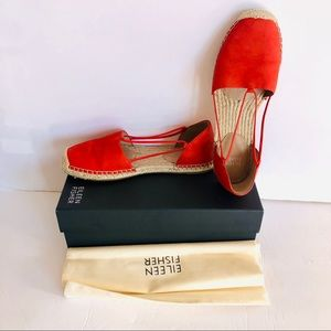 Brand New With Box EILEEN FISHER Lee Espadrille